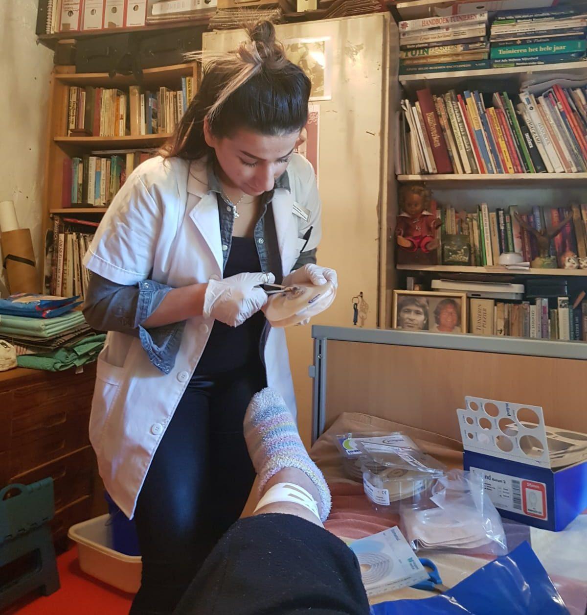 Foto praten met patient 2